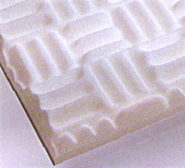 Foamsorption sound absorbing tile