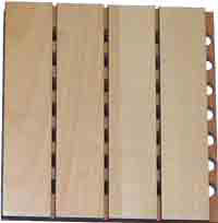 Woodsorption sound absorbing wooden panels